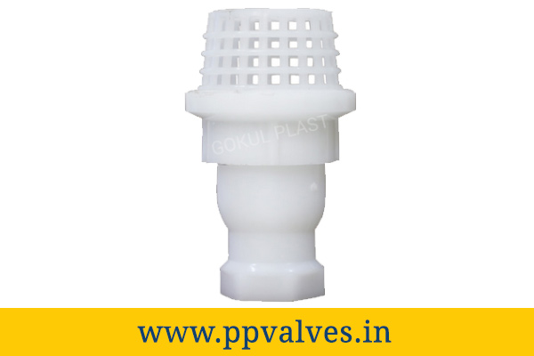 polypropylene foot valve manufacturers in India