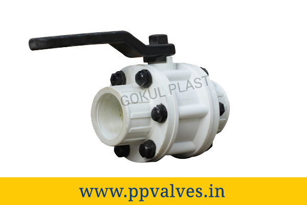 pp ball valve price in India